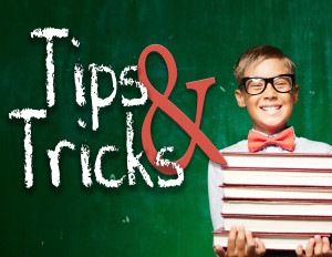 Tips and Tricks Graphic
